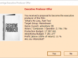 Movie Business 2 - Executive producer offer